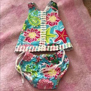 MudPie baby dress